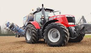 Pression tracteur avec outil lourd