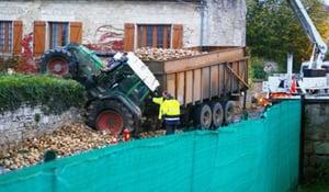 charge excessive pneus tracteur