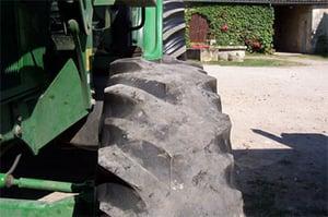 usure pneu de tracteur